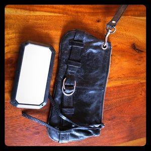 Handbags - Latico wristlet in black